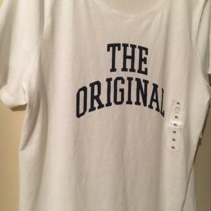 NWT Old Navy SS White Graphic T Shirt